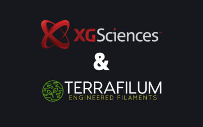 XG Sciences and Terrafilum Enter Joint Development Agreement to Produce Graphene Enhanced 3D Printing Filament